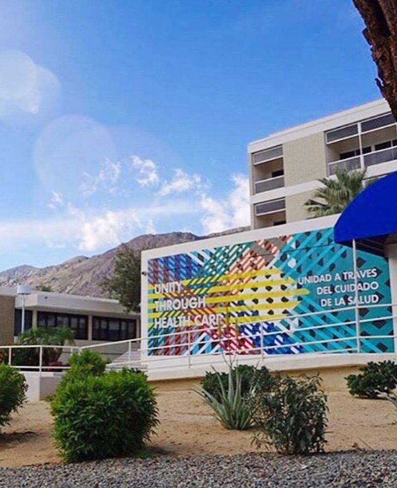 Ryan Campbell Desert Hospital Mural
